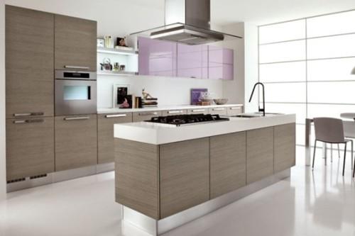 Características de las cocinas integrales modernas - Obra blanca y ...