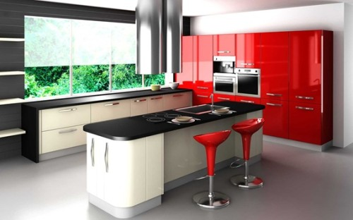 Caracteristicas De Las Cocinas Integrales Modernas Obra Blanca Y