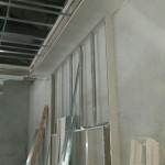 instalacion de muros en drywall