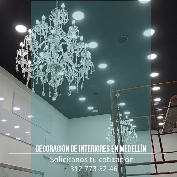 Decoraci n de interiores en medell n obra blanca y for Decoracion de interiores medellin