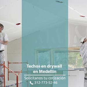 techos-en-drywall-en-medellin