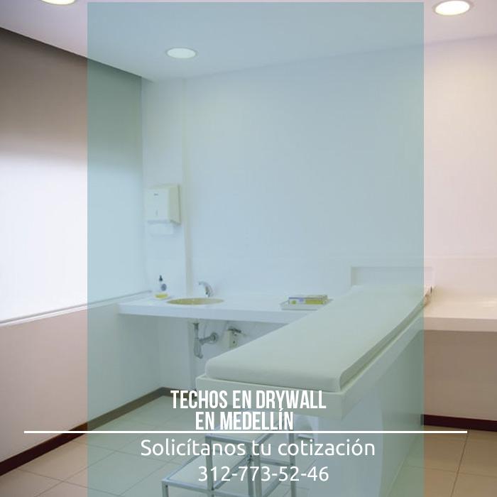 Los techos en drywall en medell n son una excelente opci n for Techos de drywall para dormitorios