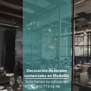 diseño de locales comerciales en medellin